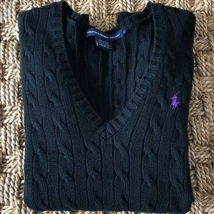 RALPH LAUREN SPORT V-neck sweater size S